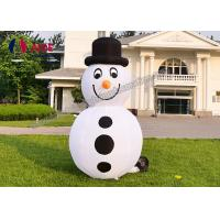 Set Snowman Inflatable Christmas Decorations Santa Car Blow Up Tree For Holiday Yard Show Manufactures