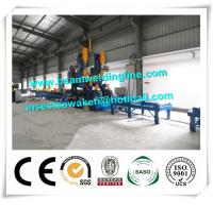 Automatic H Beam Assembling Machine , H Beam Straightening Machine CE / ISO Manufactures