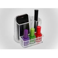 Cosmetics Transparent Nail Polish Holder Portable For Washstand Manufactures