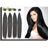 """Glossy Straight Unprocessed 12"""" 14"""" Virgin Peruvian Hair Extensions For Adults Manufactures"""