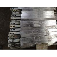 Weld Type Zinc Anodes For Ships / Marine Vessels / Drill Rigs Manufactures