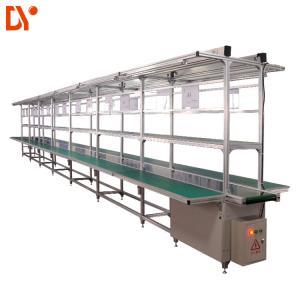 Aluminium Assembly Line Conveyor LED Light Assembly Line Equipment With PVC Conveyor Belt Manufactures