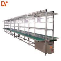 Aluminium Assembly Line Conveyor LED Light Assembly Line Equipment With PVC Conveyor Belt Manufactures
