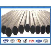Buy cheap Polygonal Galvanised Steel Pole for Distribution with min yield strength 345 Mpa from wholesalers