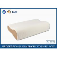 High Density Slow Recovery Cervical Memory Foam Contour Pillow With Soft Cover Manufactures
