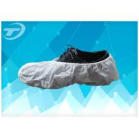 Quality SPP Fabric Disposable Waterproof Shoe Covers Handmade Or Machine Made for sale