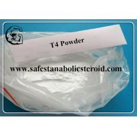 T4 Fat Loss Hormones Levothyroxine Sodium For Burning Fat CAS 25416-65-3 Manufactures
