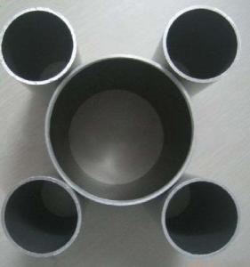 Round Anodized Aluminum Tube Powder Coated With CNC Machining Manufactures