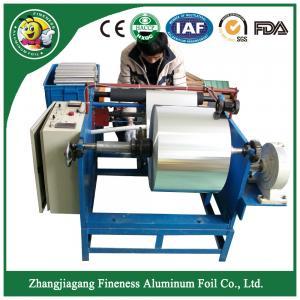 Good quality aluminum foil trendy rewinding cutting slitter machine Manufactures