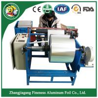 Special top sell aluminum foil roll rewinder and slitter machine Manufactures