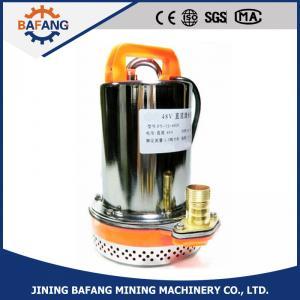 Portable DC 12v/24v/36v/48v/60v/72v submersible/ sinking water pump Manufactures