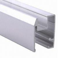 PVDF Painted Black Aluminum Window Extrusion Profiles , Bathroom Aluminum Sliding Windows Manufactures