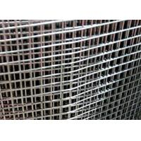 """48"""" Width Stainless Steel Welded Wire Mesh , Welded Wire Fencing 4x4 Mesh Manufactures"""