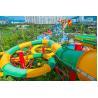 Fiberglass Closed Spiral Black Hole Water Amusement Park Slides For Adult Manufactures