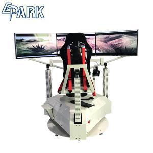 Exciting 3 Screens Car Racing Game Simulator Machine 1 Player Manufactures