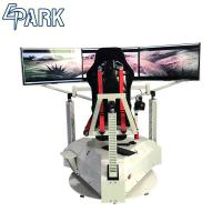Buy cheap High Technology Exciting 3 Screens Game Machine Simulator Car Racing Simulator from wholesalers