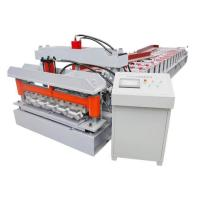 Buy cheap Roof Tile Galvanized Steel Corrugated Forming Machine Roof Tile Corrugated Sheet Cold Roll Forming Machine from wholesalers