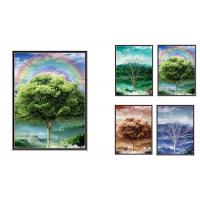 Natural Scener And Animal Style Flip 3D Lenticular Pictures 30*40cm For Home Decro Manufactures