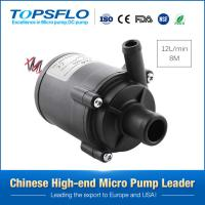 Topsflo 12V or 24v Mini centrifugal home appliance coffee pump,drink pump Manufactures