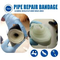Armored Cast Emergency gas and water pipe leak Crack repair Bandage water activated fiberglass tape Manufactures