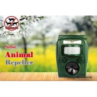 Graden ultrasonic solar animal repeller ASF-006 dog cat deer repeller by ultrasonic signal and flashing  frighten animal Manufactures