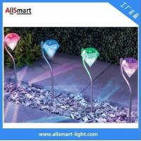 low voltage colorful Villa garden staircase solar led diamond lights Manufactures