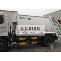 Automatic Container Rear Loader Garbage Special Vehicles with 1.4m3 Bucket Volume Manufactures