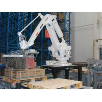 Hight Efficiency Large Cartons Robot Palletising Touch Screen Controller Manufactures