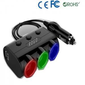 12v car cigarette lighter socket with cap Manufactures