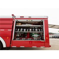 Quality Rear Mounted Pump Airport Fire Truck Low Idle Speed 800rpm Power System for sale