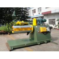 China Full - Automatic Hydraulic Decoiler Machine For 10 Tons Metal Sheets Coils on sale