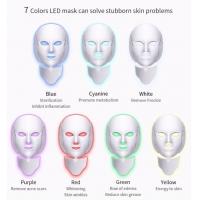OEM 15w 194 Lamps Led Facial Neck Mask For Beauty Manufactures