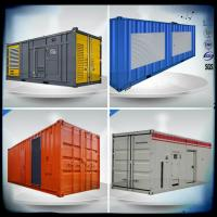 Quality Containerized VMAN generator sets, 600- 830 Kw diesel generator with container for sale