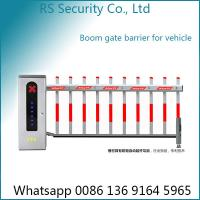 Anti Smashing Parking Lot Electric Boom Barrier Gate Operator 3-6m Arm Length Manufactures