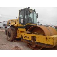 SHANTUI SR20M Diesel Second Hand Road Roller , Hand Vibratory Roller Machine Manufactures