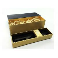 Quality Personalized Wine Packaging Boxes With Luxury PU Leather Logo Printable for sale