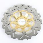 Wavy Floating Motorcycle Brake Disc Sport Brake Discs GSX 1100 Aluminum 6061 Manufactures