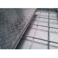 Galvanized Compound Steel Grating , Stainless Steel Floor Grating Manufactures