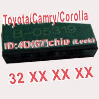 4D 67 Duplicable Chip 32XXX Car Key Transponder Chip for Toyota / Camry / Corolla Manufactures