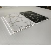 Quality Shinning White / Black Decorative PVC Panels Ceiling Indoor 2.35 - 3kg/Sqm for sale