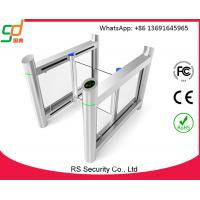 Quality RFID Smart Automatic Fast Speed Gate Swing Barrier Gate Stylish Design OEM for sale