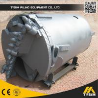 Rotary Drilling Rig / Foundation Drilling Tools Rock Soil Clay Sand Bucket Auger Manufactures