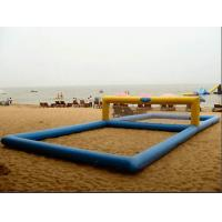 inflatable water volleyball court Manufactures