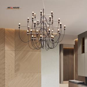 Quality Modern Led chandelier lighting Simple Hanging Lights for Restaurant/Hotel/DingRoom E14 18/30/50 Heads avize Chandelier for sale