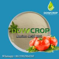 AMINO ACID POWDER 80% PLANT SOURCE DOWCROP HOT SALE HIGH QUALITY Yellow or light yellow Powder 100% WATER SOLUBLE Manufactures