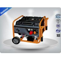 Quality 1.5 Kw / Kva Air - Cooled Diesel Portable Generator Set With Wheel Electric for sale
