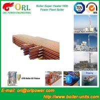 Oil Fired Boiler Super Heater , Platen Superheater In Thermal Power Plant Manufactures