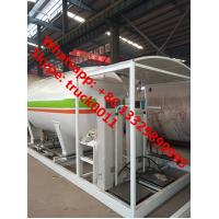 Quality wholesale new bottom price 8,000Liters skid lpg gas refilling station with for sale