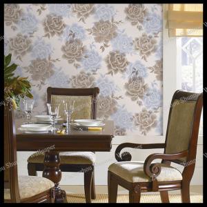 China country flowers design pvc wallpaper bedroom decorative vinyl wallpaper on sale
