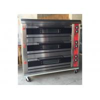 Gas / Electric Baking Ovens Mechanical Control Independent Temperature Selection Each Chamber Holds 2 of Baking Sheets Manufactures